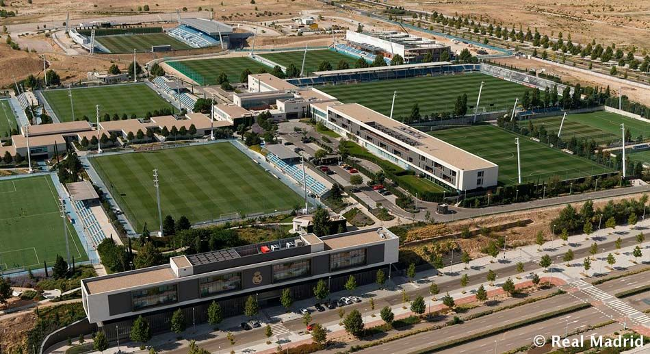 Image result for real madrid training center
